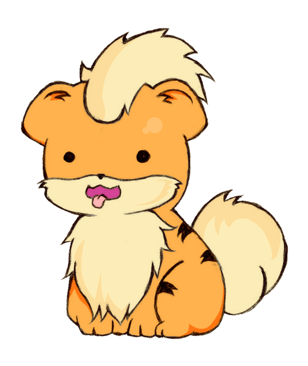 PKMN  Growlithe by Cieaomi on DeviantArtGrowlithe
