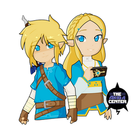 Zelda Breath of the Wild by TheAkiraCenter