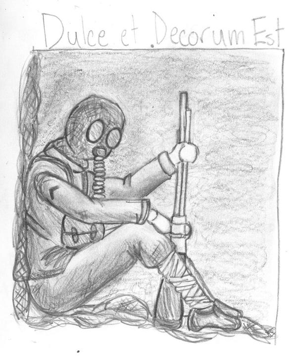 dulce et decorum est poem pdf