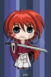 Kenshin - Rurouni Kenshin by EstudioZoo