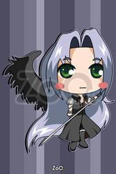 Sephiroth - Final Fantasy by EstudioZoo