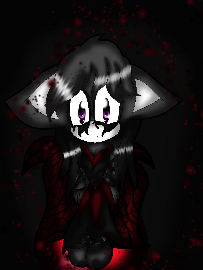 Zahina the gothic fairydog by TerTam129