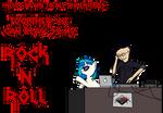 DJ P0n-3 and Skrillex
