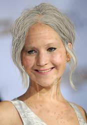 Elderly Jennifer Lawrence by Foolish-Water