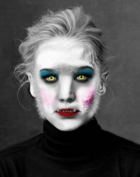 Werewolf Jennifer Lawrence by Foolish-Water