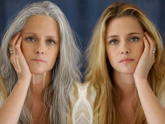 Old Kristen Stewart Split by Foolish-Water