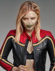 Chloe Grace Moretz as an Alien by Foolish-Water