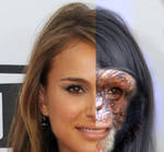 Natalie Portman Chimp Split (2013)