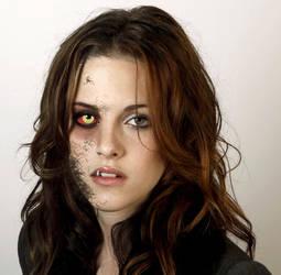 Kristen Stewart Werewolf 2.5 Split (2013) by Foolish-Water