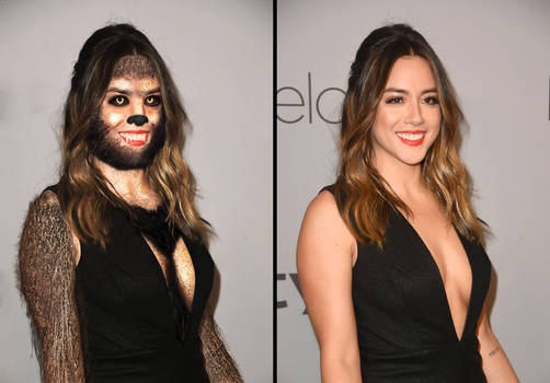Werewolf Chloe Bennet Split