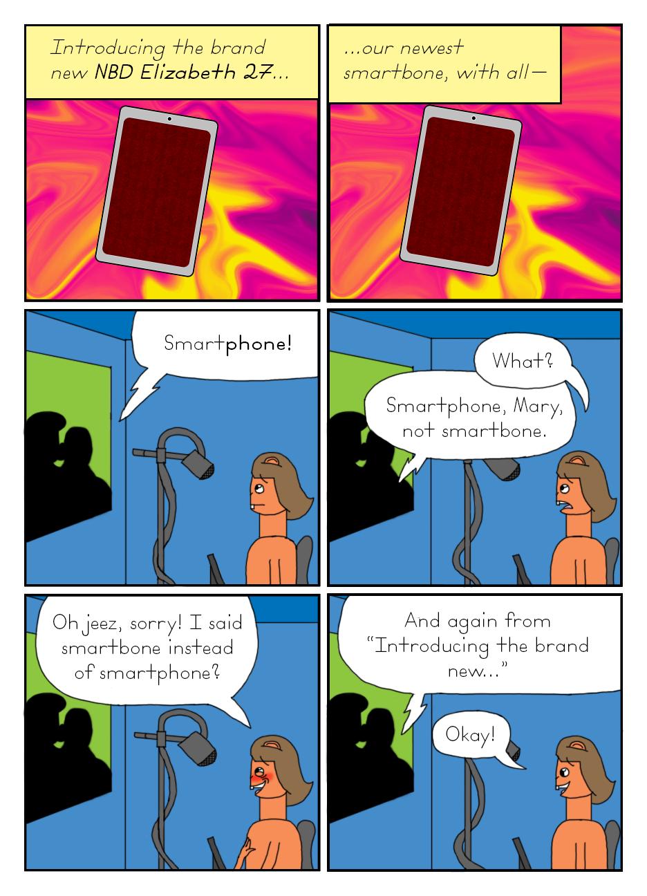 The Sbuirrels #8: A Dumb Smartphone Ad (4/7)