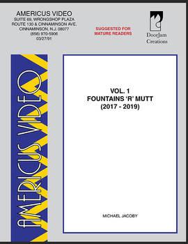 Americus Video Vol.1: Fountains 'R' Mutt Cover