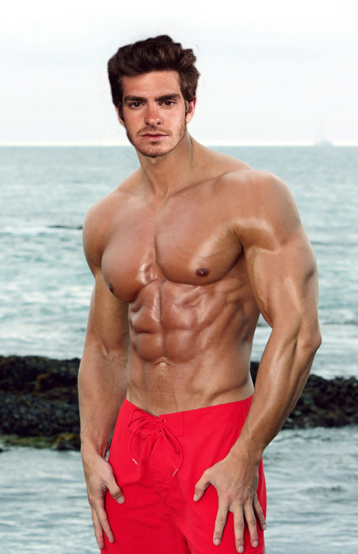 Andrew Garfield muscle morph 1 by horber on DeviantArt Andrew Garfield Gay
