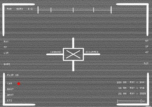 Gunship FLIR UI