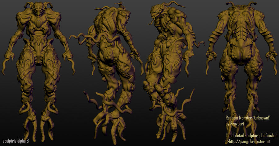 Monster in Random  (Unknown creature) by akosiart