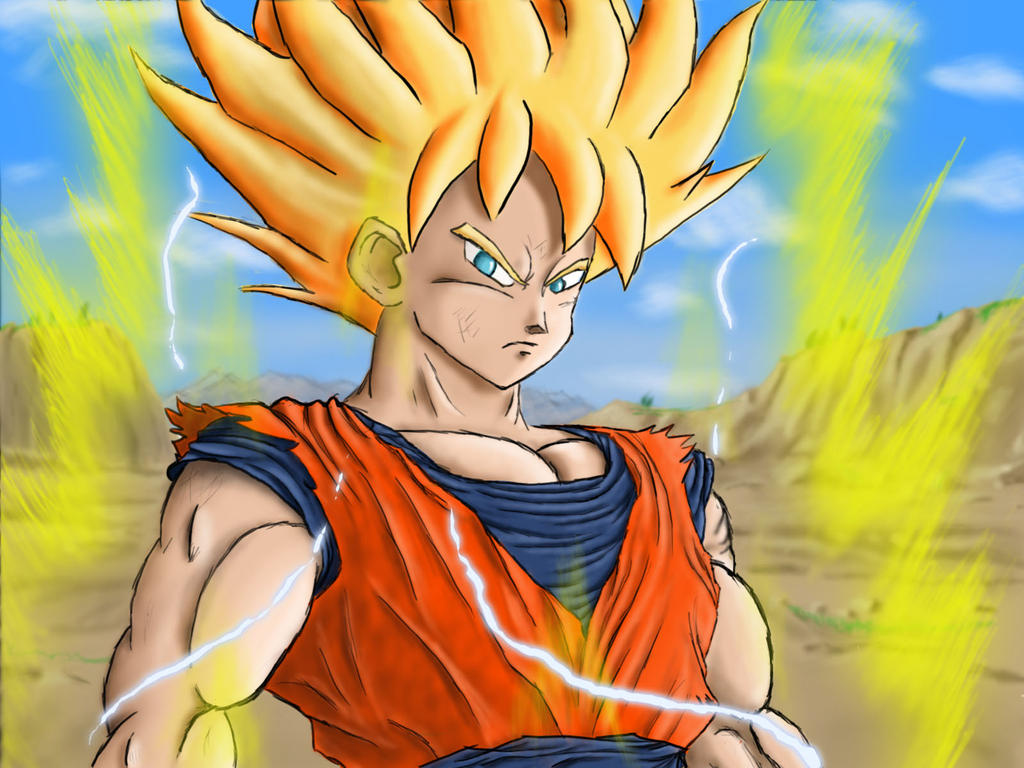 Goku super saiyan 7 the image kid has it - Super sayenne ...