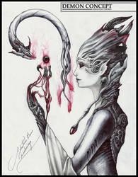 Demon Concept. by SebastianOsorio18