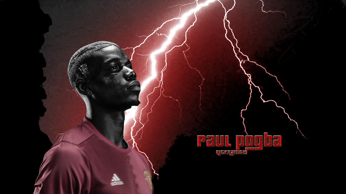 Paul Pogba Manchester United 2017 Wallpaper By RICKram619