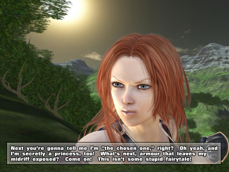 Deedee busts RPG Tropes by McFunkypants