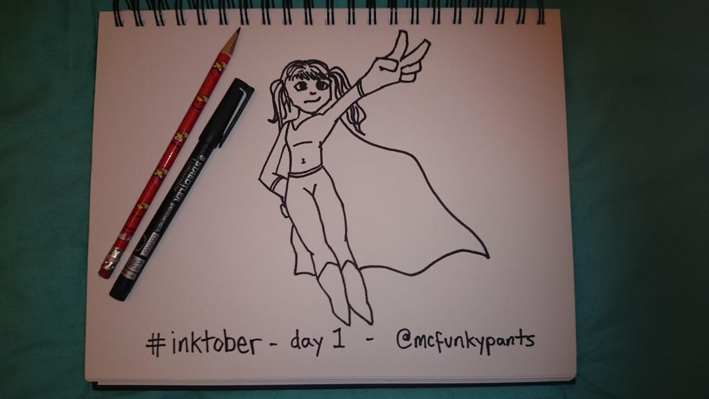 #inktober 2015 day 1 by McFunkypants