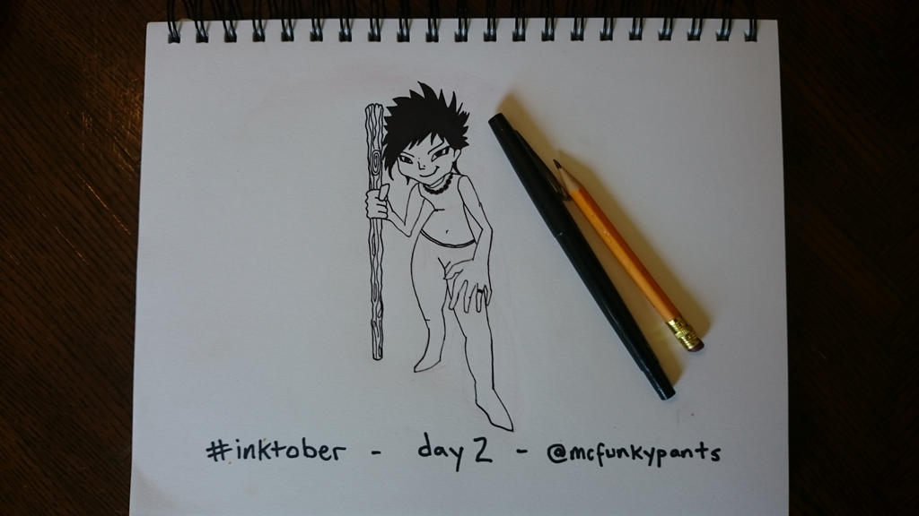 #inktober 2015 day 2 by McFunkypants