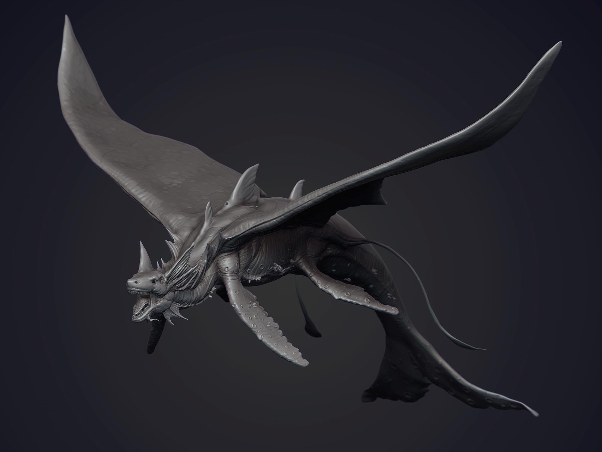 Water dragon by Stranger1988