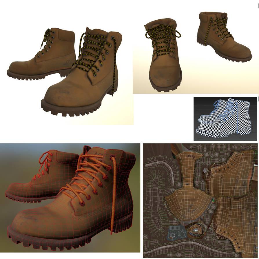Nubuck boots by Stranger1988