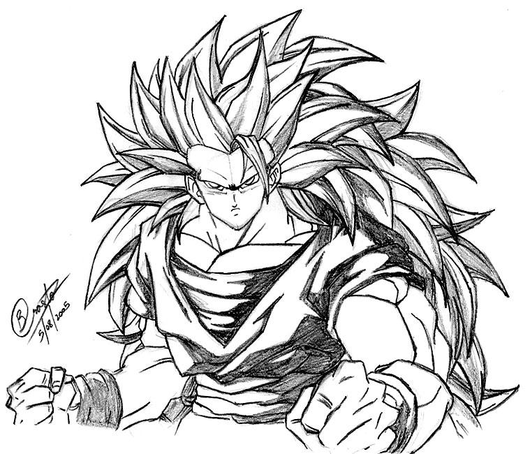 ::Super Saiyan Goku:: by Ricochet05
