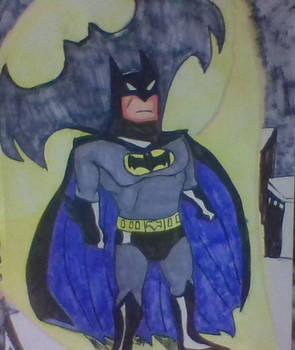 Batman hero of Gotham