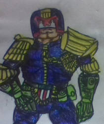 JUDGE DREDD IS THE LAW!!!