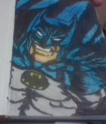 Mini skechbook entry #1:BATMAN