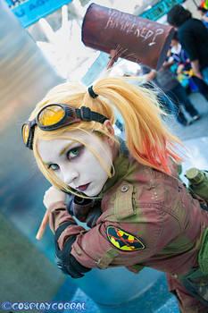 Post Apocalyptic Harley Quinn Comikaze