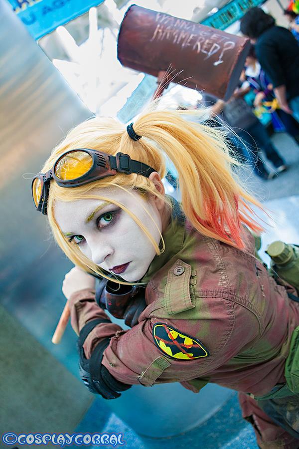 Post Apocalyptic Harley Quinn Comikaze by DiaryofADoll