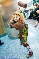 Post Apocalyptic Harley Quinn Comikaze 2013