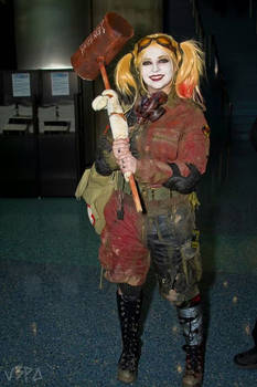 Post Apocalyptic Harley Quinn Cosplay
