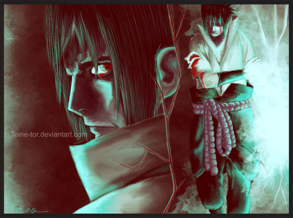 Uchiha Sasuke - Bloodlines by Teine-tor