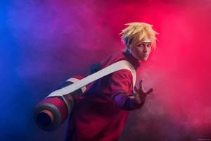 Naruto Shippuden - Naruto Sennin Mode by Izaya88