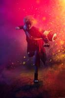 Naruto Shippuden - Naruto Sennin Mode by me by Izaya88