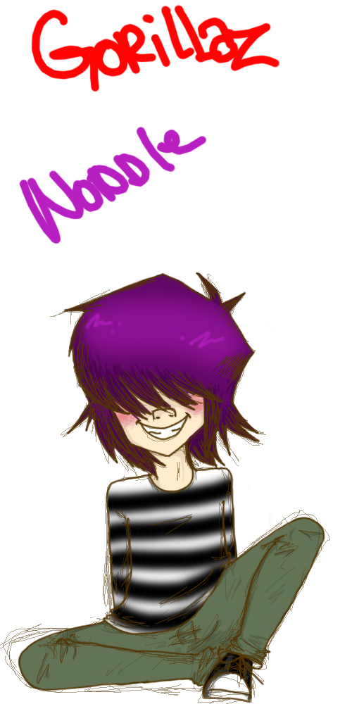Noodle by FallOutGirlxD
