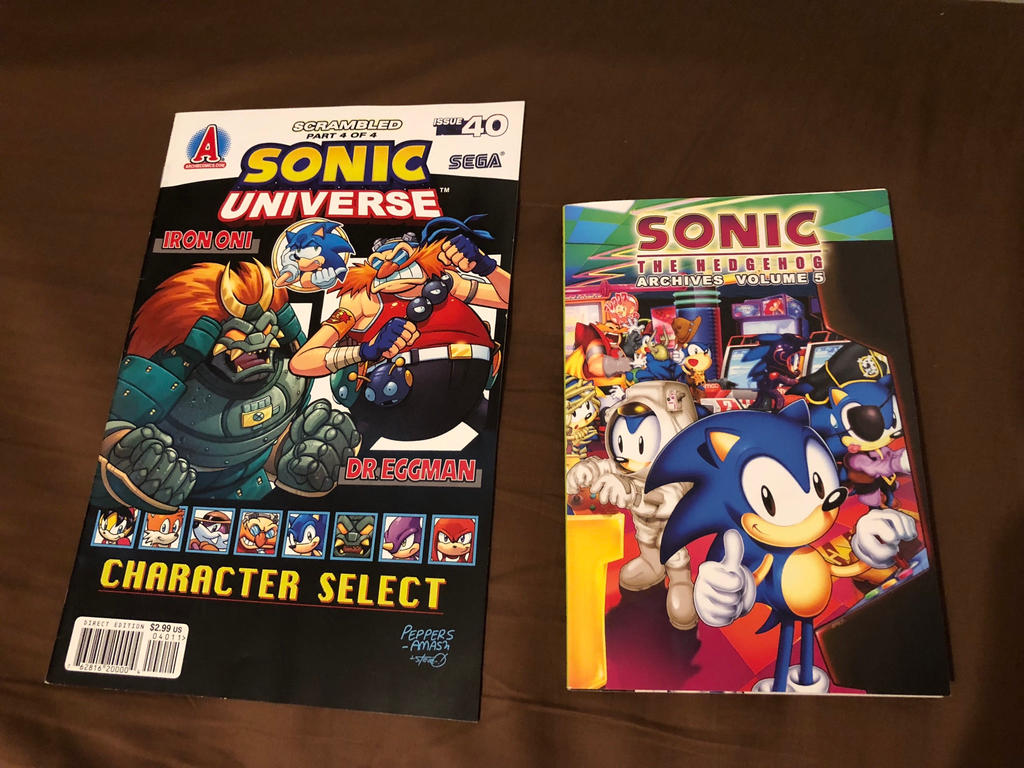 Some Archie sonic comics in found at Ollie's by Micktrap397 ...