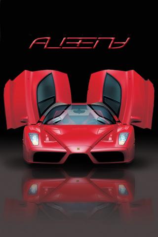 Wallpaper Ferrari Enzo Iphone By Albenyd On Deviantart