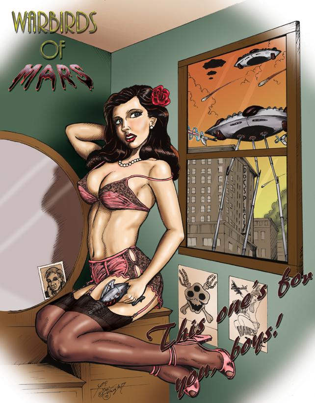 Josie Warbirds of Mars Tshirt by DocRedfield