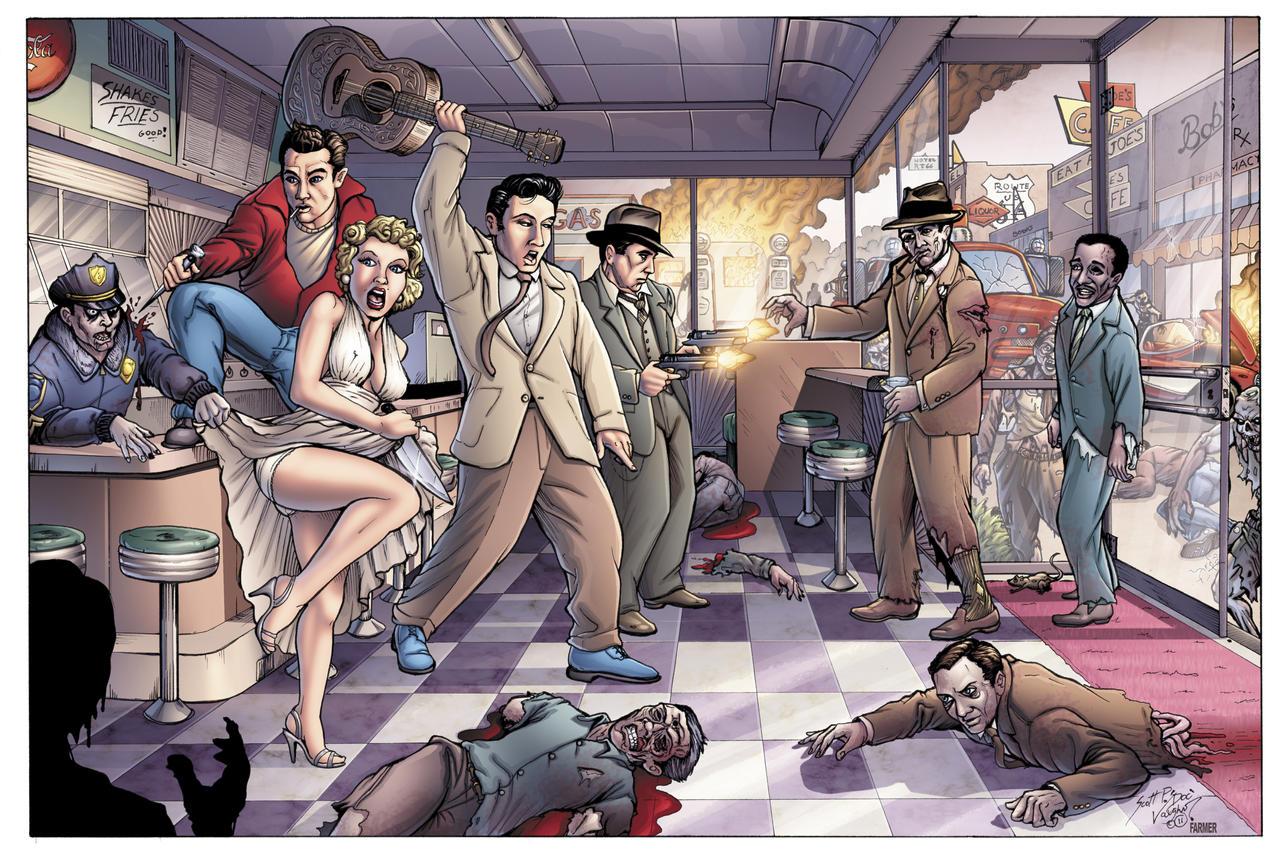 Zombie Apocalypse 1955 by DocRedfield