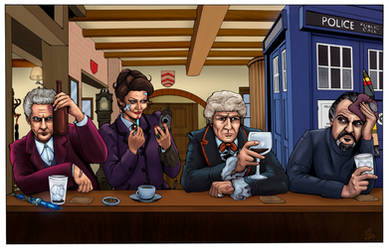 DOCTOR WHO - Moffat's Pub by DocRedfield