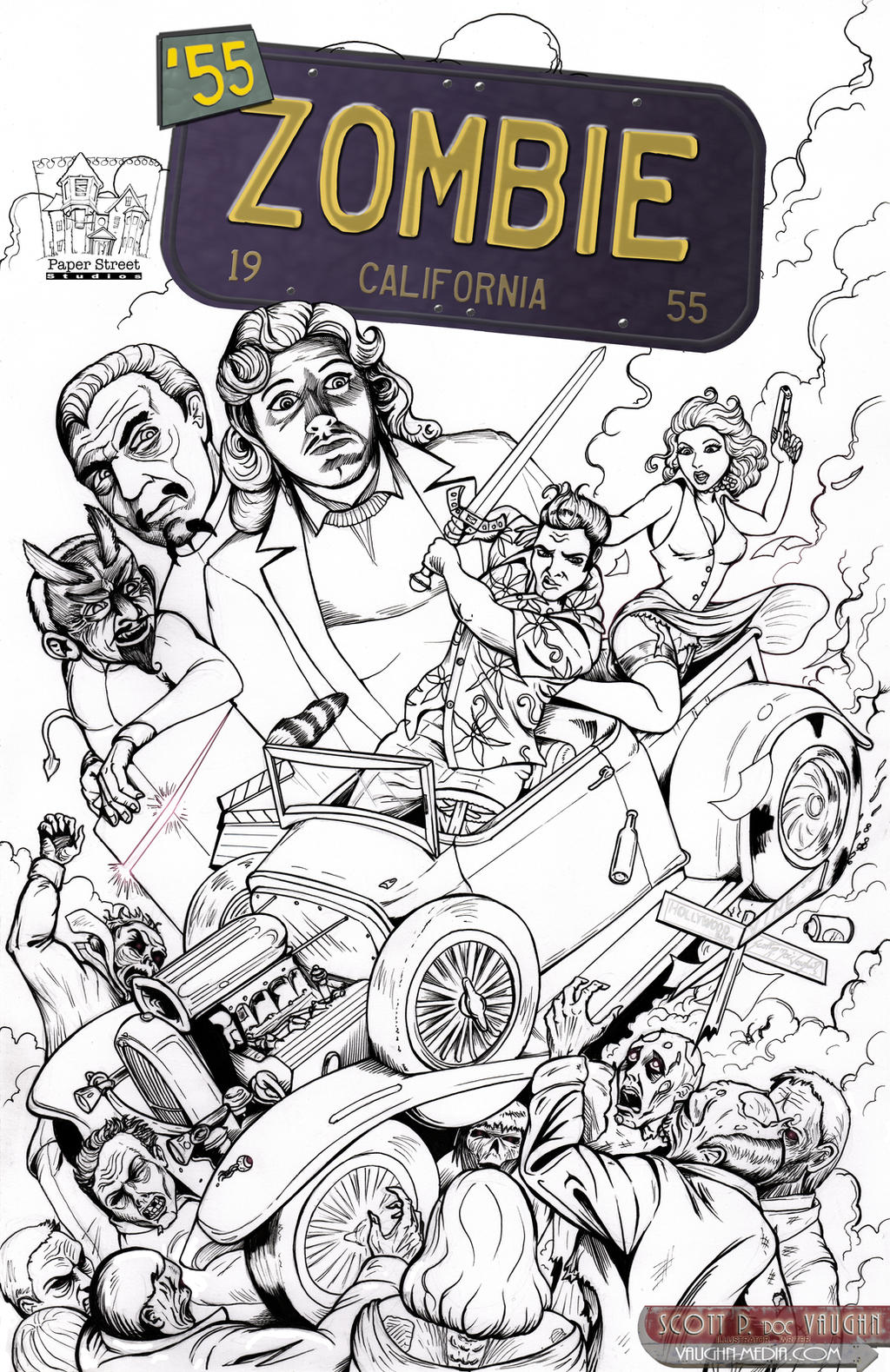 55zombie - Doc Cover lines by DocRedfield