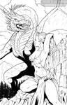 Dragon and Dame -Jason Worthington Inks