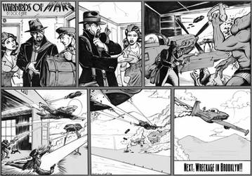 WARBIRDS OF MARS pg52 inks by DocRedfield