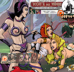 Teela and She-ra PATREON by DocRedfield