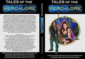 Hero-Lore Anthology mock-up