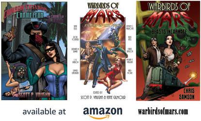 Warbirds of Mars book ADs